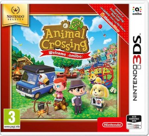 Gra NINTENDO 3DS Animal Crossing New Leaf Welcome amiibo